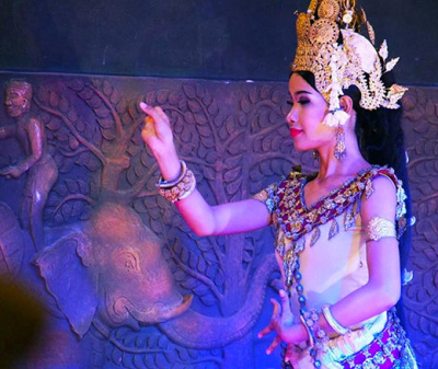 Cambodia Apsara Performance