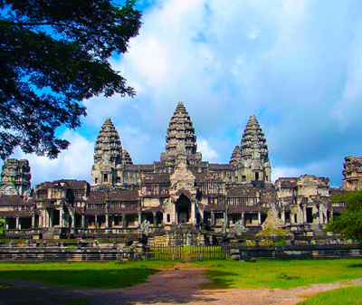 Angkor Wat and Angkor Temples in Siem Reap, Cambodia
